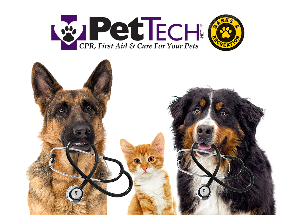 Pet CPR & First Aid - PetTech and Barks & Recreation